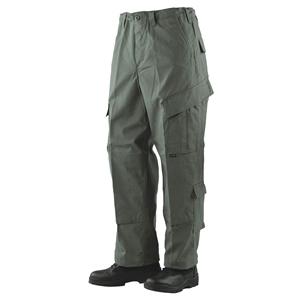 Kalhoty TRU N/C rip-stop ZELENÉ