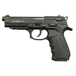 Pistole plynová ZORAKI 918-T cal. 9mm ÈERNÁ
