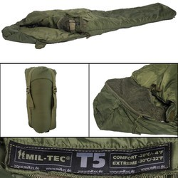 Spacák TACTICAL T5 ZELENÝ