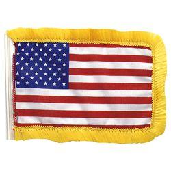 Vlajka USA malá na tyèku/anténu 11 x 15 cm