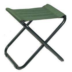 Židle CAMPING skládací ZELENÁ