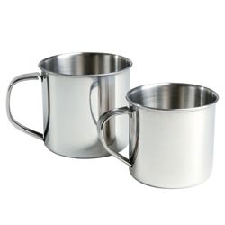 Hrnek STAINLESS STEEL obsah 300ml