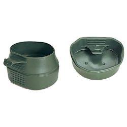 Hrnek skládací ŠVÉDSKÝ FOLD-A-CUP® plastový 200ml ZELENÝ