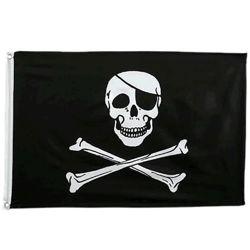 Vlajka PIRÁTSKÁ JOLLY ROGER