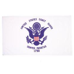 Vlajka pobøežní stráže U.S. COAST GUARD 1790 BÍLÁ