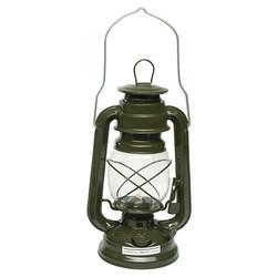 Lampa petrolejová 23cm ZELENÁ