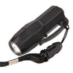 Svítilna MINI 3 LED vèetnì baterií ÈERNÁ - zvìtšit obrázek