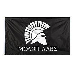 Vlajka MOLON LABE 90 x 150 cm