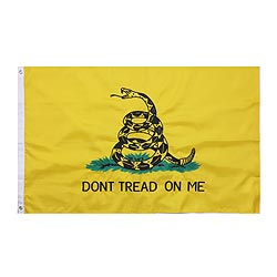 Vlajka Don t Tread On Me DELUXE 90 x 150 cm