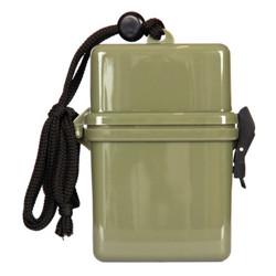 Krabièka / box vodotìsná na krk 25x70x110 mm ZELENÁ