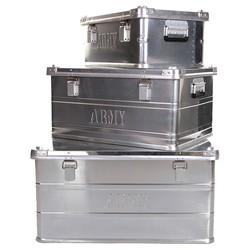 Kufry ALU ARMY sada 3ks