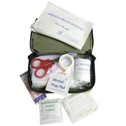 Lékárna s vybavením MALÁ vè. pouzdra ZELENÁ
