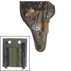 Pouzdro pistolové BW P1(P38) s adaptérem FLECKTARN