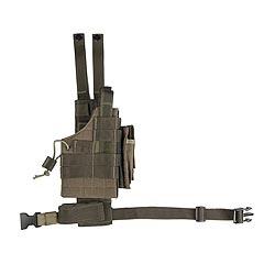 Pouzdro pro pistol na stehno oboustranné US MODULAR ZELENÉ