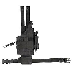 Pouzdro pro pistol na stehno oboustranné US MODULAR ÈERNÉ