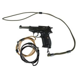 Šnùra bezpeènostní MIL-TEC ke zbrani ÈERNÁ