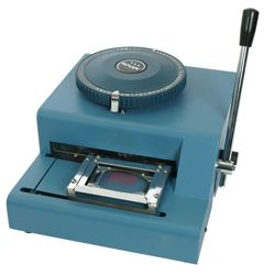 Stroj ražební na identifikaèní známky DOG TAG ruèní