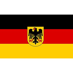 Vlajka SRN s orlicí 60 x 90 cm
