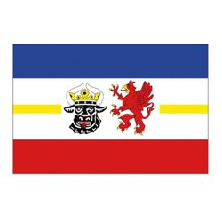 Vlajka MEKLENBURSKO-PØEDNÍ POMOØANSKO
