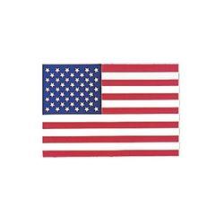 Samolepka U.S. vlajka na sklo zevnit�