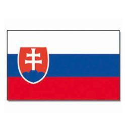 Vlajka na tyèce SLOVENSKO 30x45cm - zvìtšit obrázek