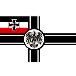 Vlajka ØÍŠSKÉ NÌMECKO na tyèce 30 x 45 cm