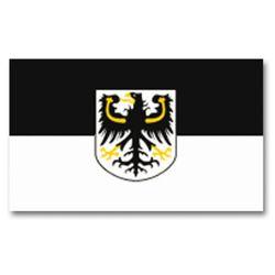 Vlajka VÝCHODOPRUSKO s emblemem