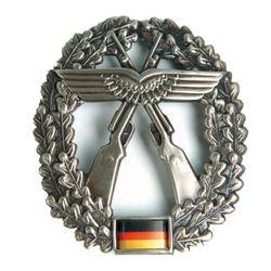 Odznak BW na baret Luftwaffen-Sicherungstruppe