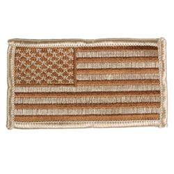 Nášivka US VLAJKA textil DESERT