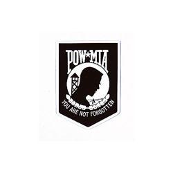 Samolepka POW/MIA na sklo zven��