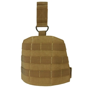 Panel stehenní MOLLE D-RING COYOTE BROWN
