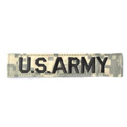 Nášivka jmenovka US ARMY ACU DIGITAL