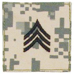 Nášivka hodnosti VELCRO SERGEANT ARMY ACU DIGITAL