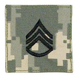 Nášivka hodnosti VELCRO STAFF SGT ARMY ACU DIGITAL