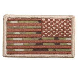 Nášivka US vlajka reverzní 4,5 x 8,5 cm MULTICAM®