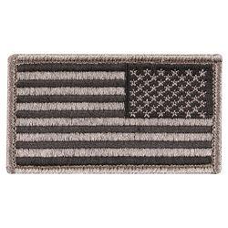 Nášivka US vlajka reverzní 4,5 x 8,5 cm