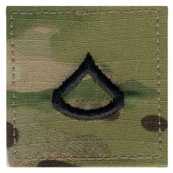 N�ivka hodnostn� Private First Class VELCRO MULTICAM�
