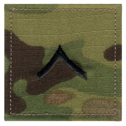 N�ivka hodnostn� Private - VELCRO MULTICAM�