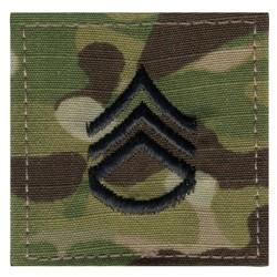 Nášivka hodnostní Staff Sergeant VELCRO MULTICAM®