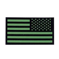 Nášivka IFF IR vlajka USA VELCRO reverzní ZELENÁ