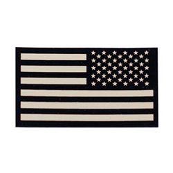 Nášivka IFF IR vlajka USA VELCRO reverzní PÍSKOVÁ