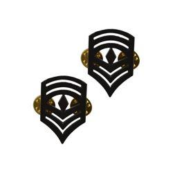 Odznak hodnostní USMC - 1stSgt. - ÈERNÝ