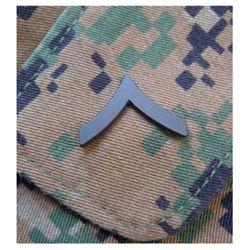 Odznak hodnostní USMC - Pfc. - ÈERNÝ