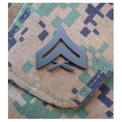 Odznak hodnostní USMC - Cpl. - ÈERNÝ pár