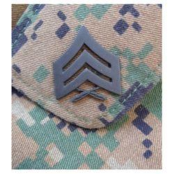 Odznak hodnostní USMC - Sgt. - ÈERNÝ