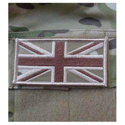 Nášivka vlajka VELKÁ BRITÁNIE velcro MULTICAM®