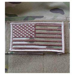 Nášivka vlajka US - MULTICAM® VELCRO