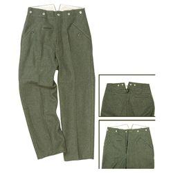 Kalhoty WH polní M40 ŠEDÉ repro