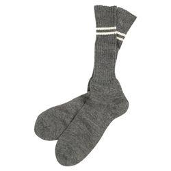 Ponožky WH vysoké ŠEDÉ repro