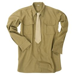 Košile US M37 WWII vlnìná KHAKI